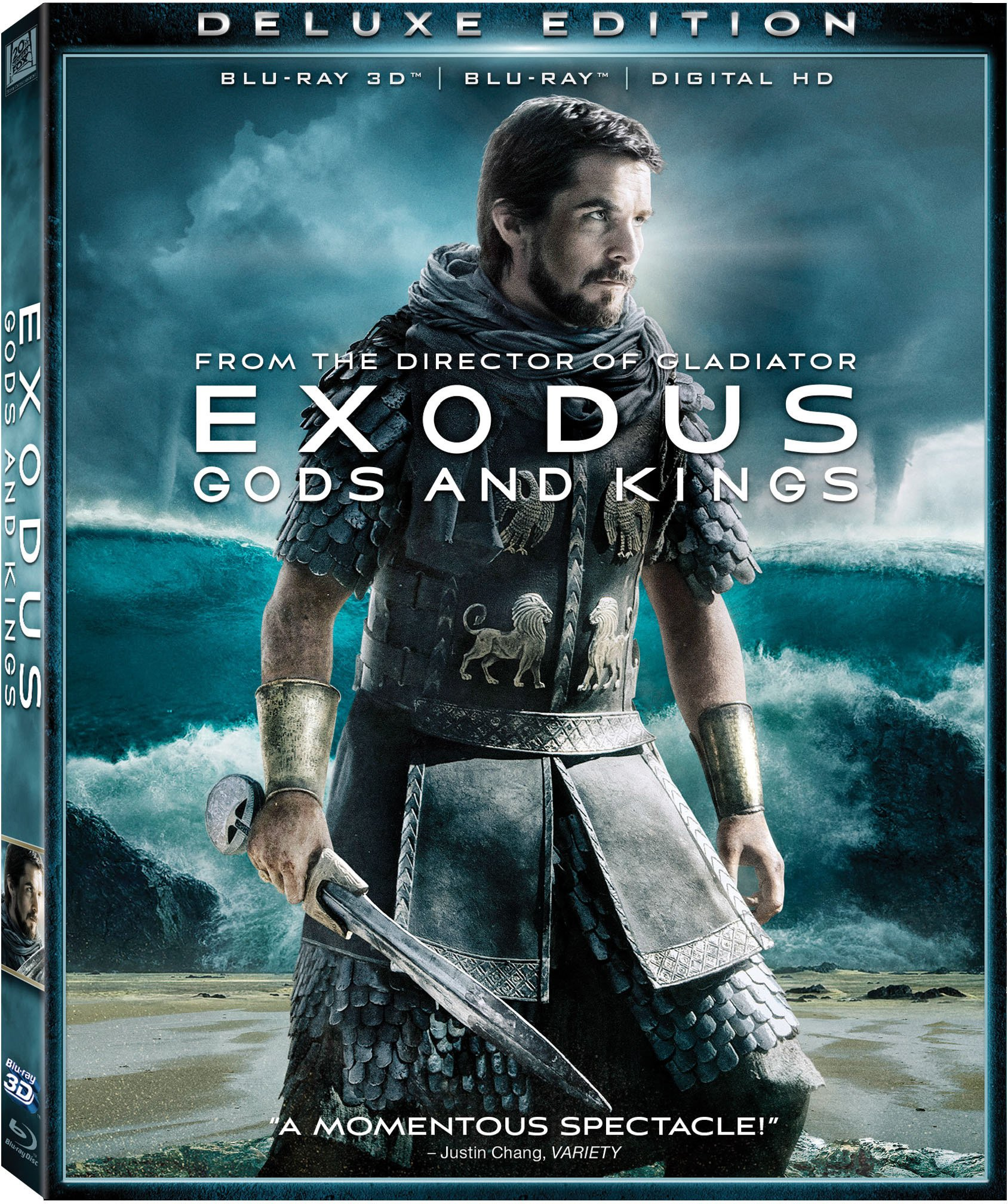 Blu-ray 3D : Exodus: Gods and Kings (With Blu-Ray, Digitally Mastered in HD, Dubbed, , Widescreen)