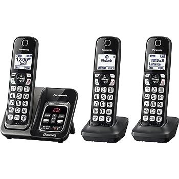 amazon com panasonic kx tgd533w expandable cordless phone with rh amazon com