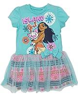Disney Moana Toddler Girls' Tulle Dress Blue