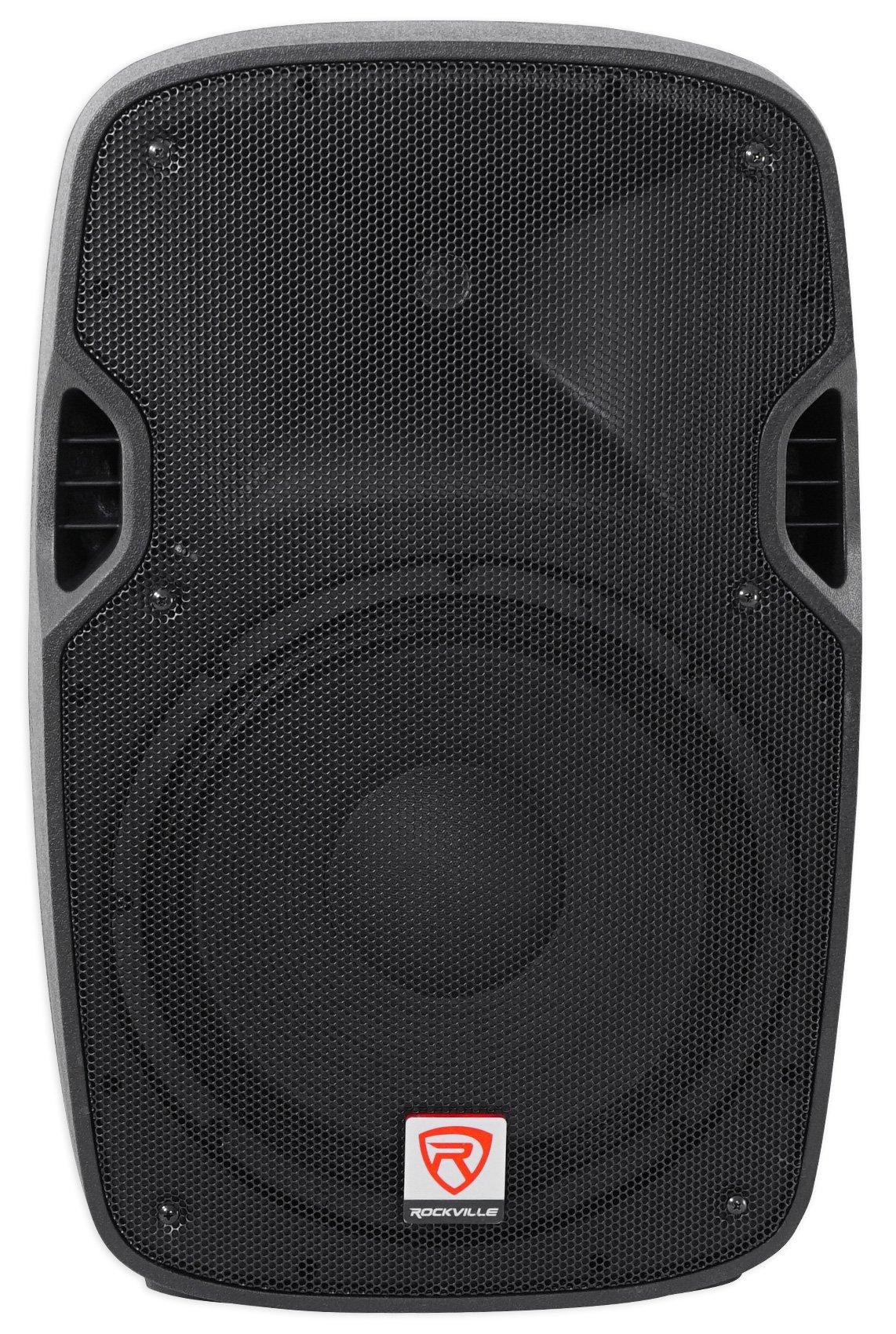 Rockville SPGN128 12'' Passive 1200W DJ PA Speaker ABS Lightweight Cabinet 8 Ohm