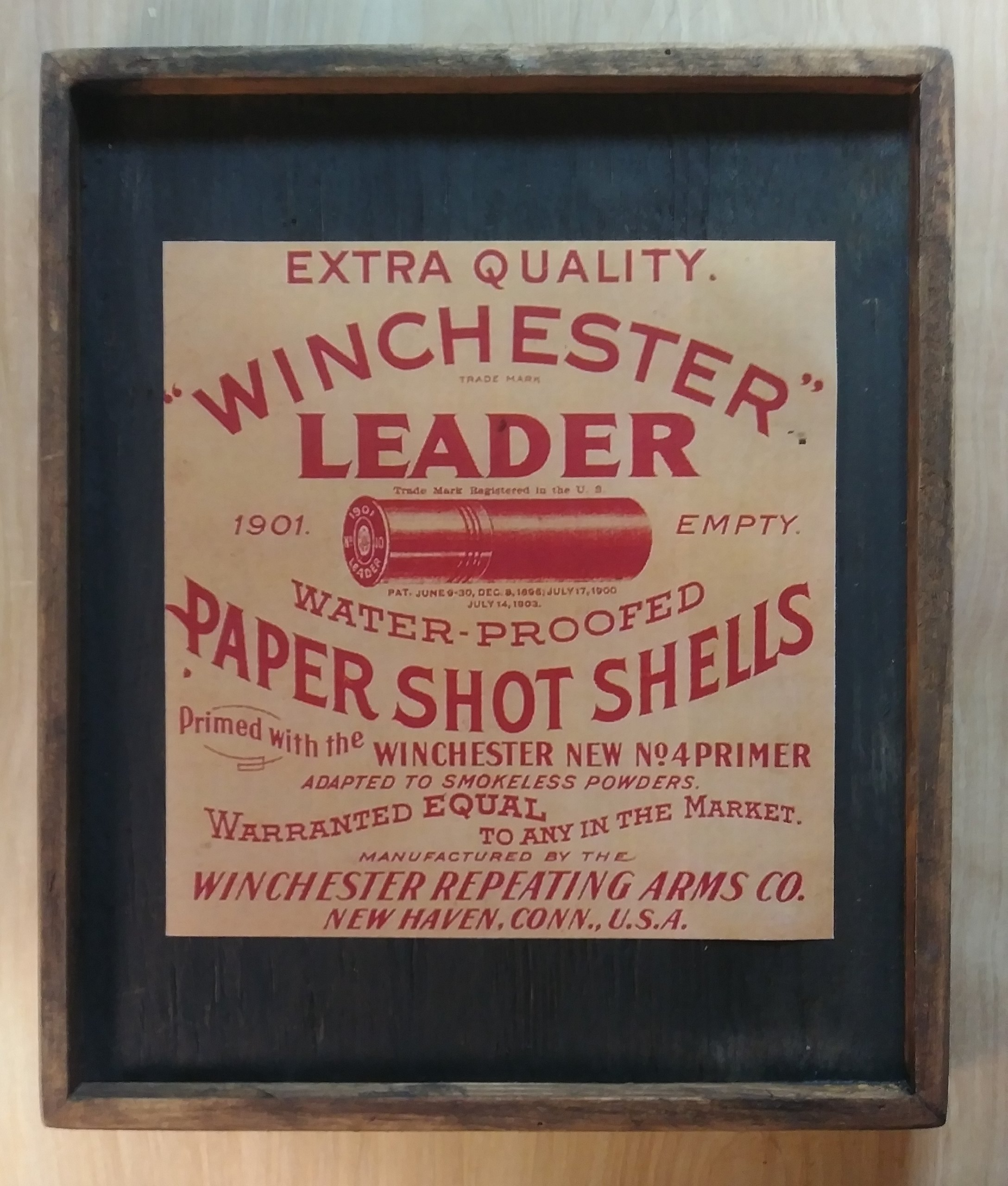 WINCHESTER - Wooden Sign