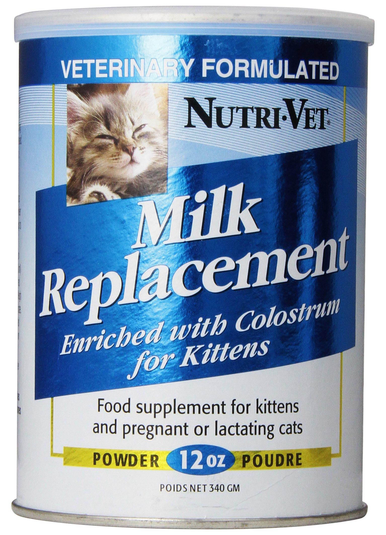 Nutri-Vet Milk Replacement for Kittens, 12-Ounce