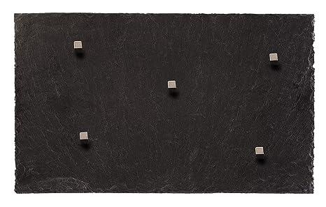 Pizarra Pizarra Magnética (macizo auténtica piedra). 50 cm x ...