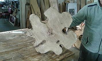 Baumscheibe Holzscheibe Ca 50cm Basteln Holz Akazie Amazon De