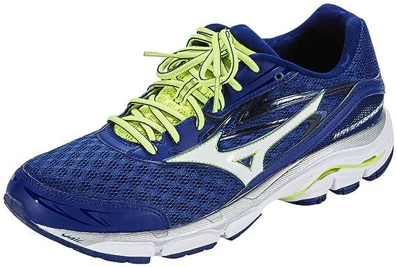 7a8e42101b92 Mizuno - Wave Inspire 12 Men's Running Shoes (Blue/Yellow) - EU 46 ...