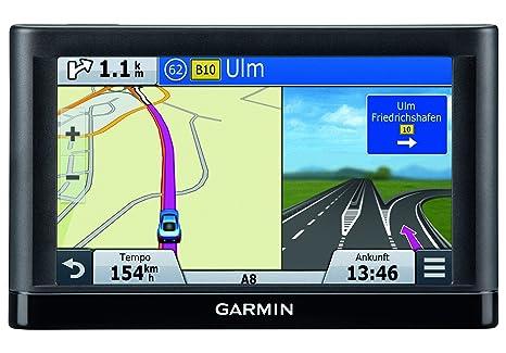 """Garmin Nüvi 66LMT - GPS para Coches de 6.1"""", mapas de Europa, Negro"""