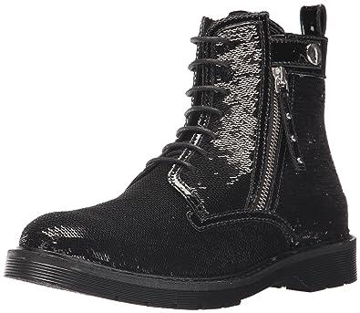 5193611391 A|X Armani Exchange Women's Sequined Combat Boot
