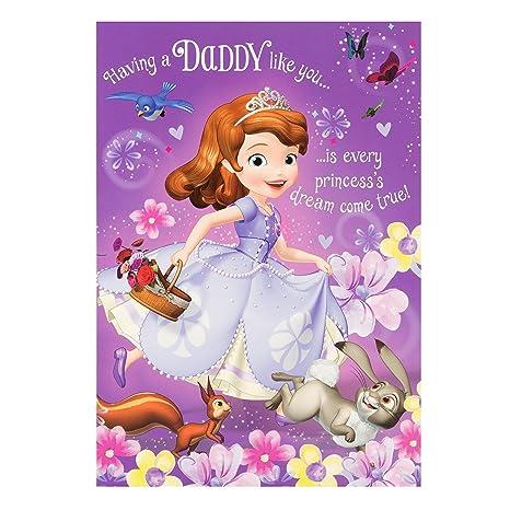 Tarjeta de felicitación con diseño de Princesa Sofía, de ...