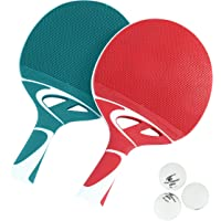 Cornilleau Tacteo Duo 2 Player Table Tennis Racket & Ball Set