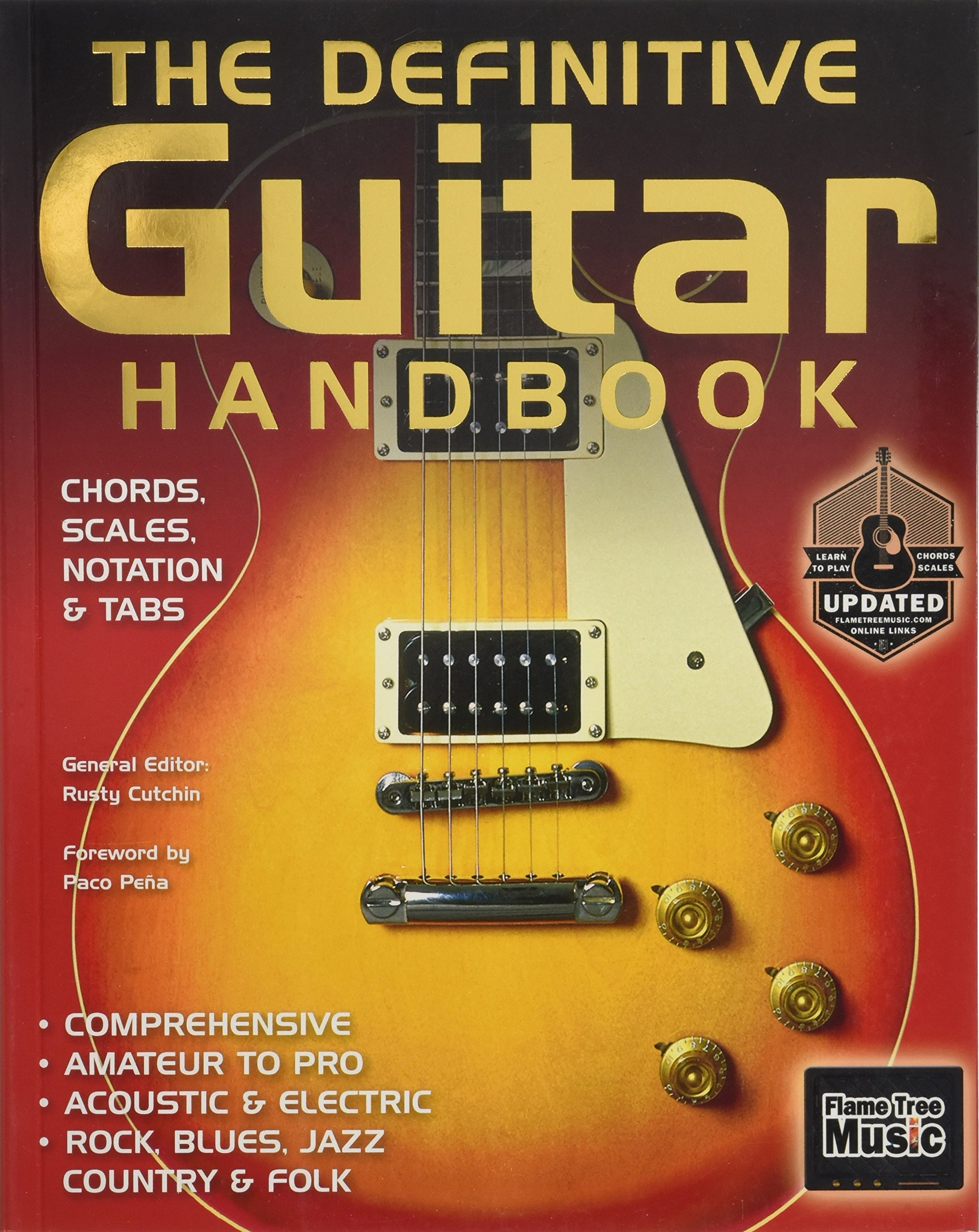 The Definitive Guitar Handbook 2017 Updated Rusty Cutchin Cliff