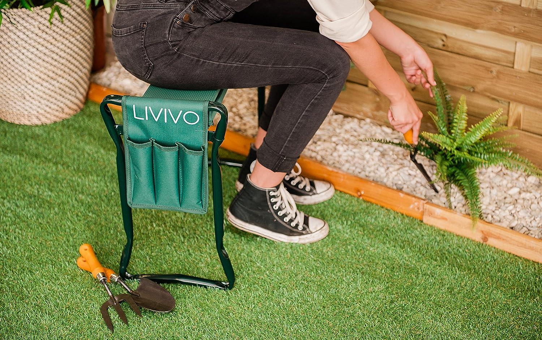 Livivo inginocchiatoio pieghevole portatile multi uso per
