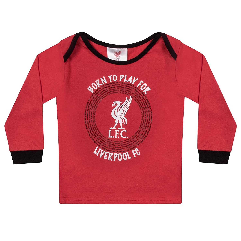aa8b983fd Amazon.com  Liverpool FC Official Soccer Gift Boys Kids Baby Pajamas   Clothing