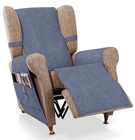 Bartali Cubre sillón Relax Pharma, Azul, 1