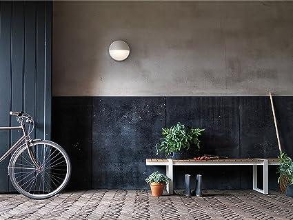 Philips myGarden Capricorn - Aplique sin sensor de movimiento, iluminación exterior, 6 W, corriente alterna, LED, aluminio, diseño moderno, blanco cálido, ...
