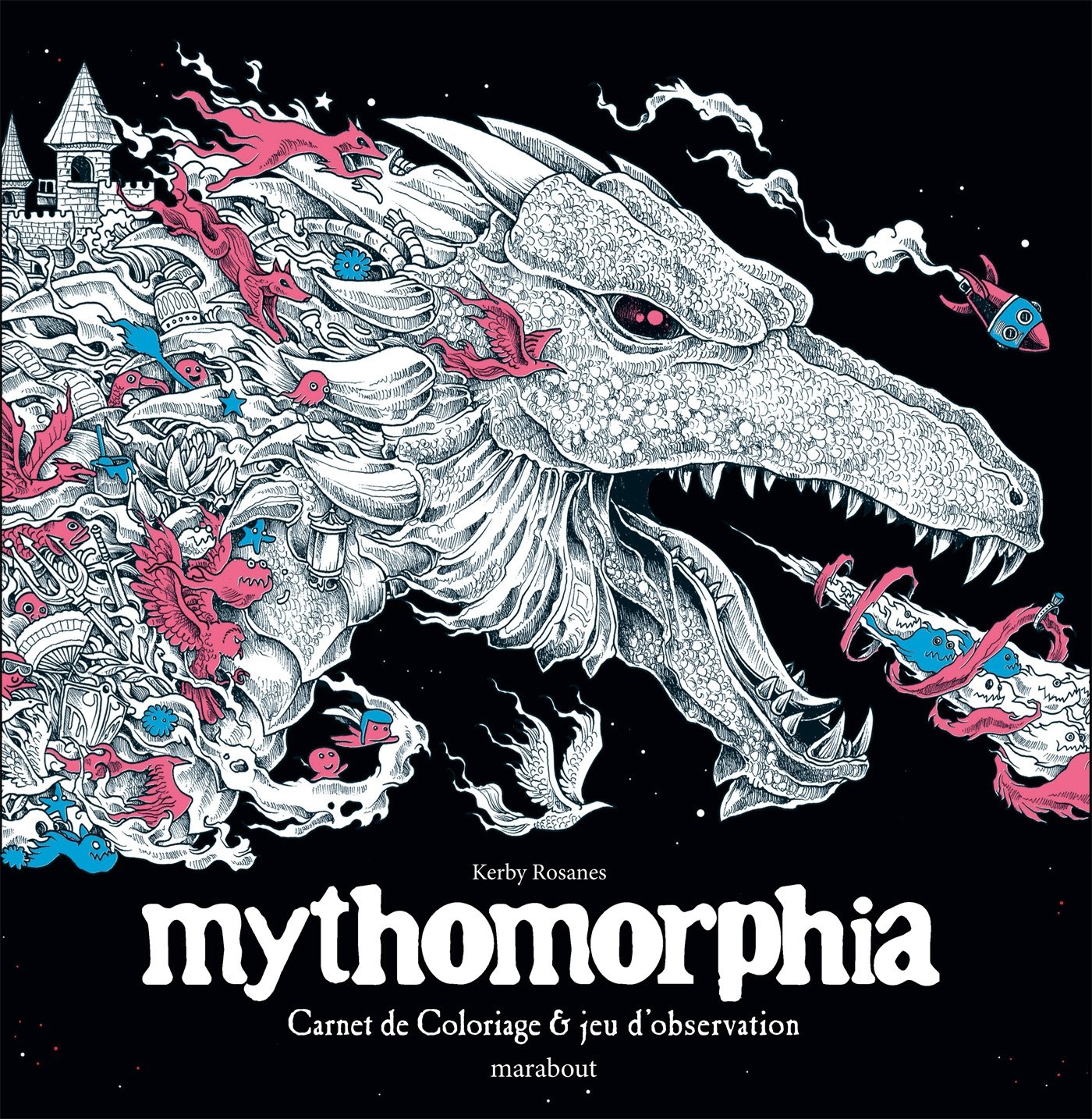 Animorphia An Extreme Colouring And Search Challenge Kerby