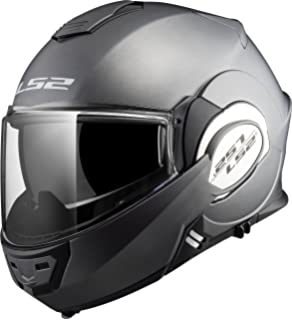 LS2 Helmets 399-1036 Valiant Solid Unisex-Adult Flip-Up-Helmet-