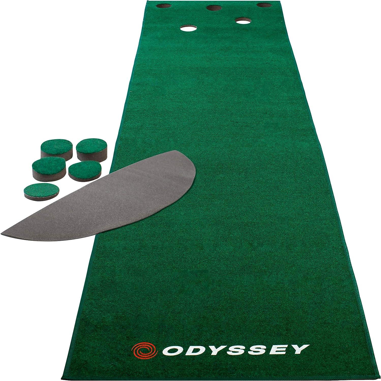 Callaway Odyssey 12 Ft. Indoor Putting Green Golf Mat Golf Putting Training Aid