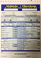 vehicle check up 3 part inspection form 250 quantity by a plus w2