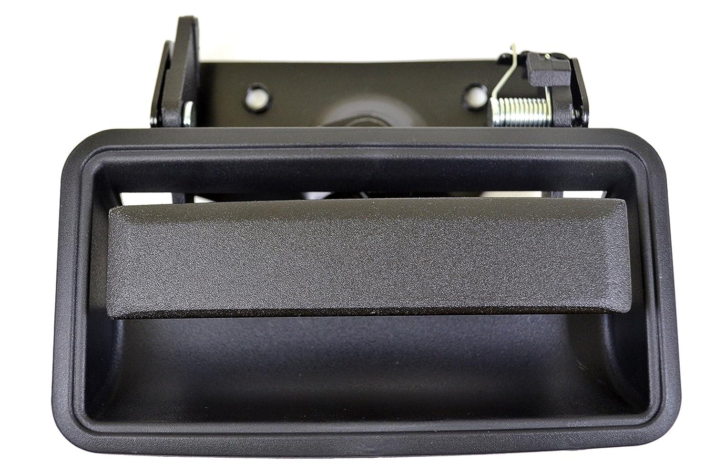 Tailgate Handle//Bezel PT Auto Warehouse GM-3521A-TB Textured Black