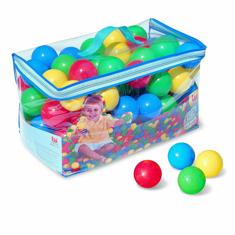 Bestway Bolas de Colores para Piscina de Bolas Hinchable 52027 ...