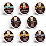 48ct Variety Pack for Keurig K-cups®, 8 Assorted Single Cup Sampler 20% more coffee per cup by Bradford Coffee