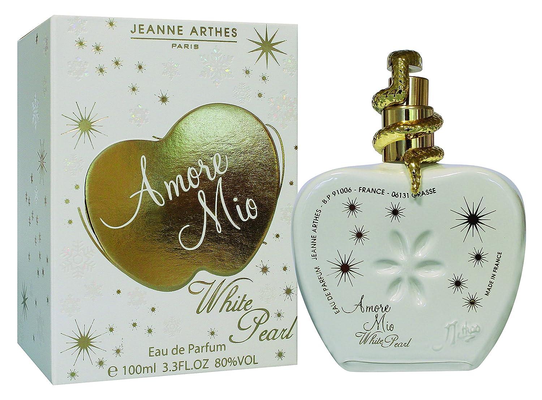 Jeanne Arthes Amore Mio White Pearl Perfume 100 Ml Amazoncouk Beauty