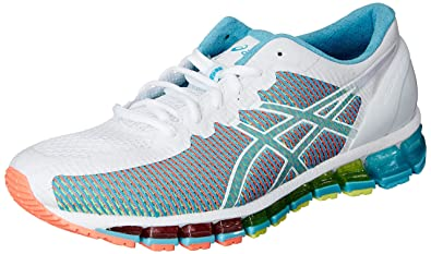 Snow Running Shoes >> Asics Women S Gel Quantum 360 Cm White Snow And Flash Coral Running