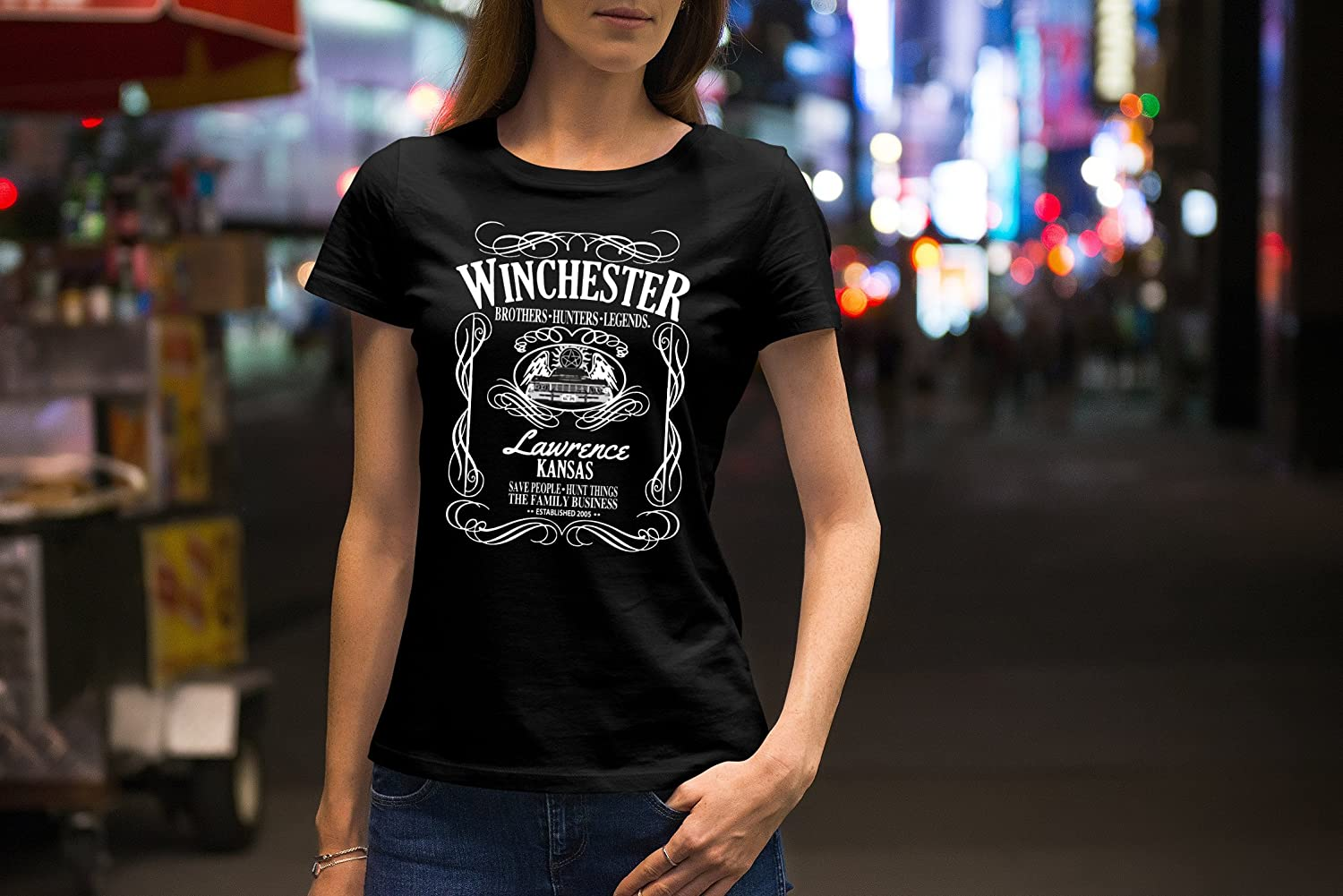 Hunter and Legends T-Shirt ShinyKT Winchester Brothers