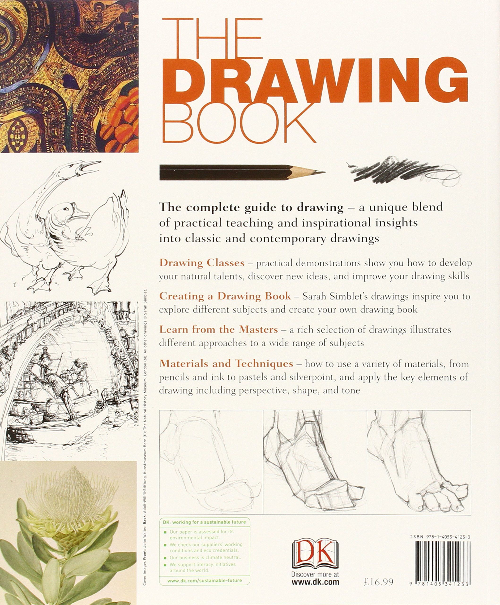 The Drawing Book: An Innovative, Practical Approach to Drawing the