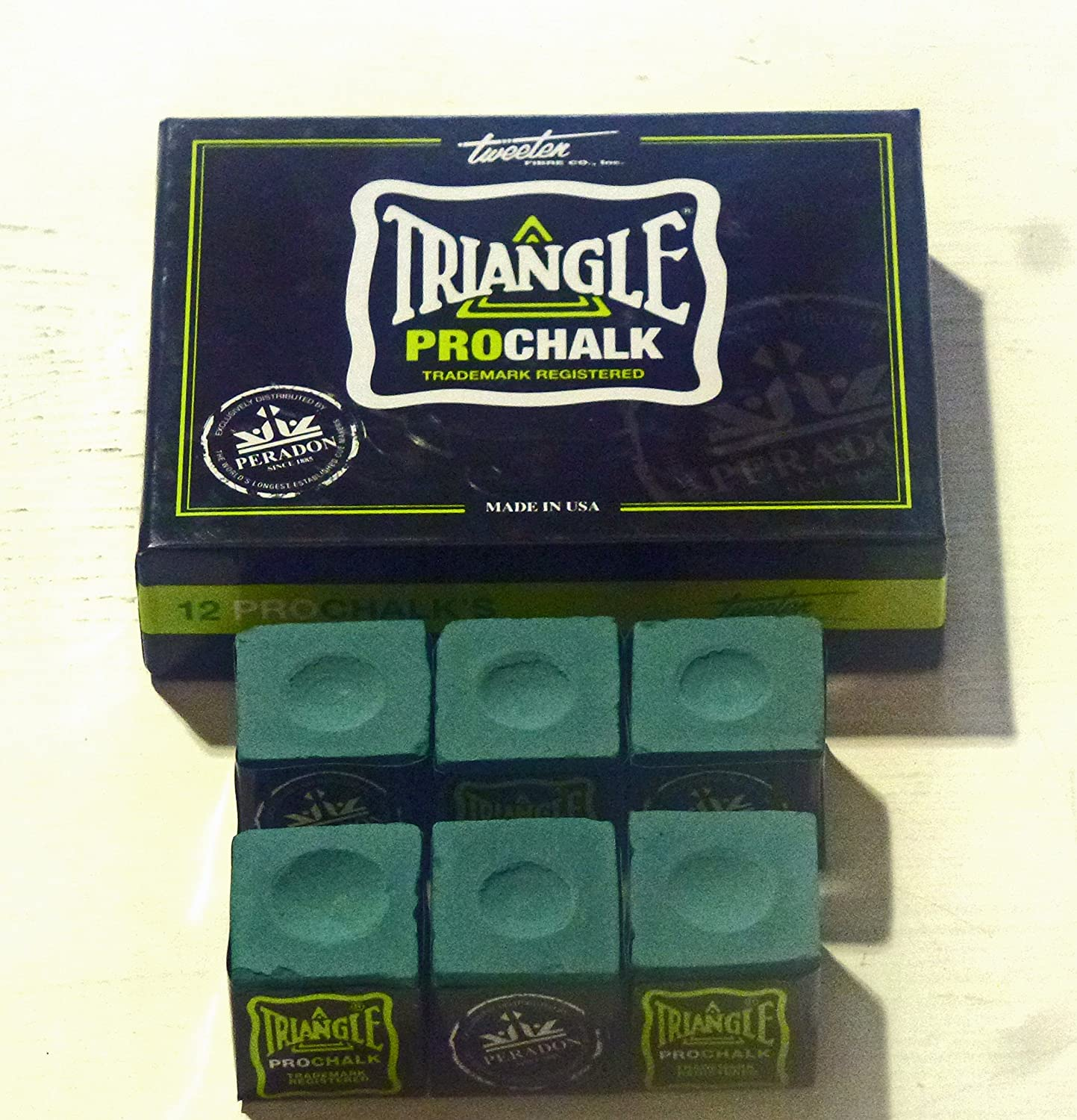 Triangle Pro Chalk Snooker//Pool 3 cubes