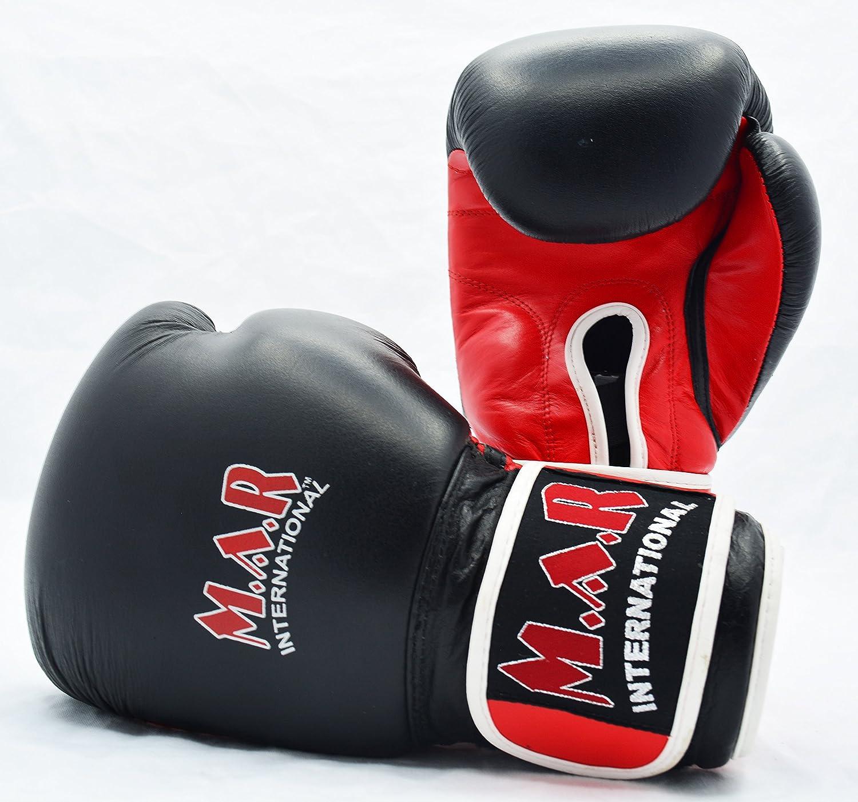 Genuine Leather Boxing Gloves Bag Mitts for Kids /& Adults Kickboxing Gear Thai Boxing Equipment MMA Supplies Muay Thai Training Black 2oz 4oz 6oz 8oz 10oz 12oz 14oz 16oz 18oz 20oz