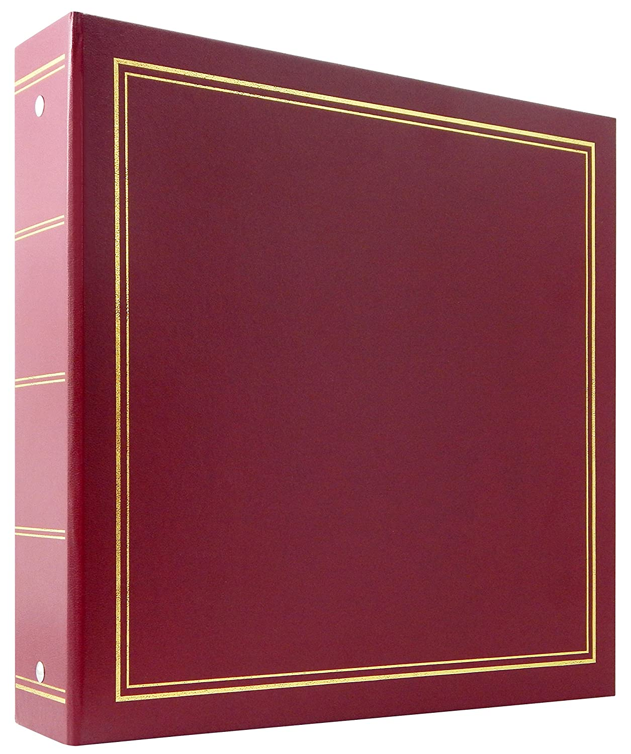 MCS Library Collection 400 Pocket 4x6 Photo Album in Burgundy MCS Industries 804001