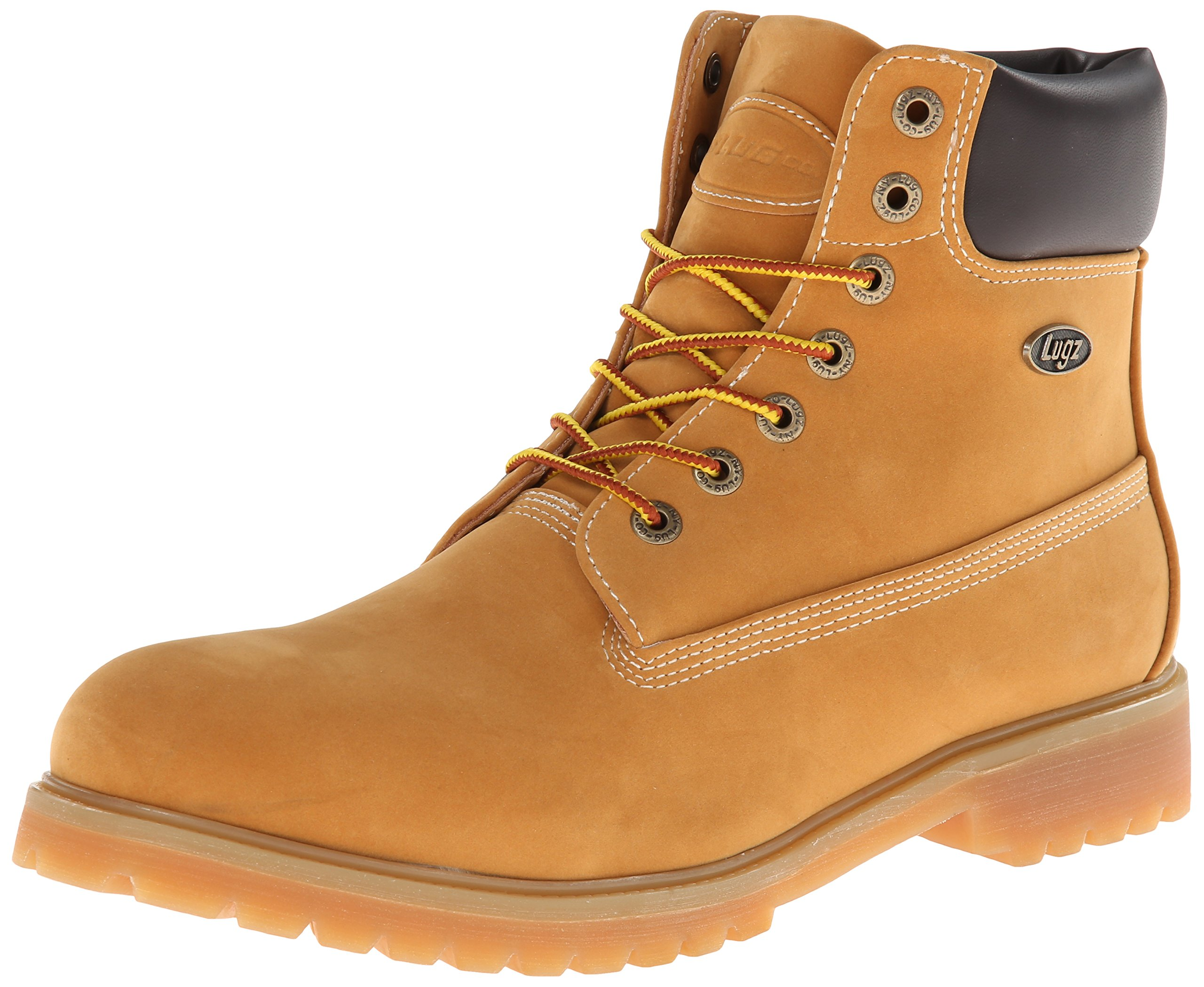 Lugz Men's Convoy Wr Winter Boot, Golden Wheat/Bark/Tan/Gum, 10.5 D US