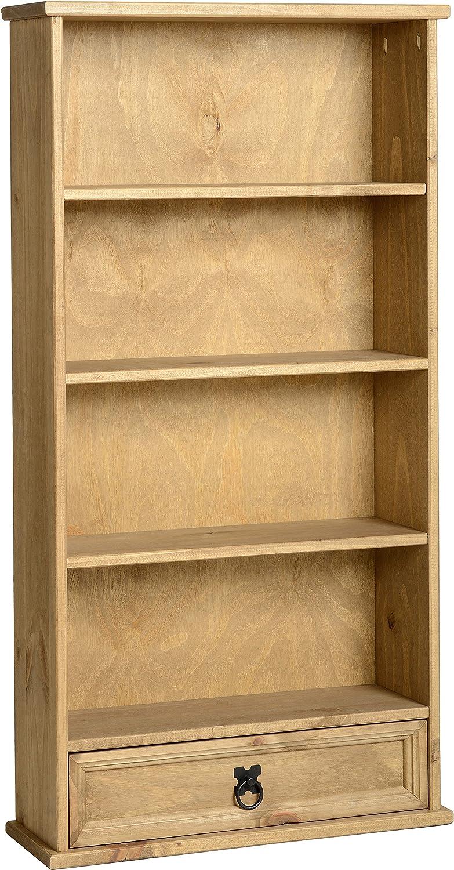 Corona Mexican 1 Drawer Bookcase DVD Rack Storage Unit Solid Pine Waxed  Finish: Amazon.co.uk: Kitchen U0026 Home