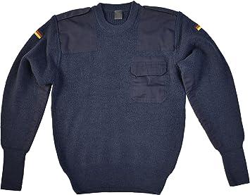 normani Bundeswehr Pullover mit Brusttasche nach TL der BW