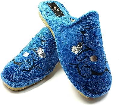 Zapatillas casa Mujer cómodas Calientes Suaves Pantuflas Confort Calidad diseño y fabricación española Slippers Home: Amazon.es: Zapatos y complementos