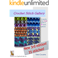 Crochet Stitch Gallery: A Step-by-Step Visual Guide to 35 Stitch Patterns (Tiger Road Crafts) (English Edition)