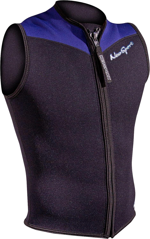 Front Zip 2.5mm Men/'s NeoSport Wetsuit Vest