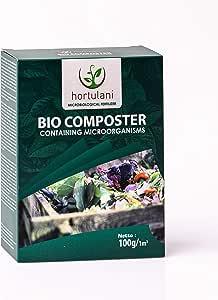Hortulani BioComposter: Fabricante y Acelerador de Compost 100% Natural para Hacer el Mejor Compost para Tomates, Hierbas, Verduras y Otras Plantas en Crecimiento en su jardín.: Amazon.es: Jardín