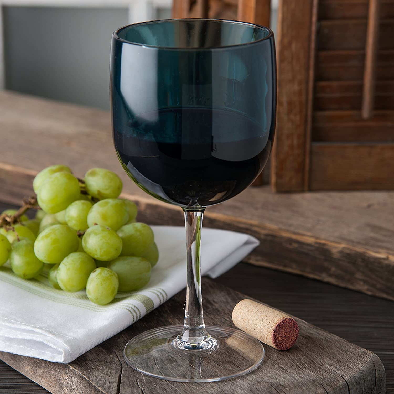 Smoke Pack of 12 16 oz Carlisle EP7018 Epicure Shatter-Resistant Tritan Cased Wine Goblet