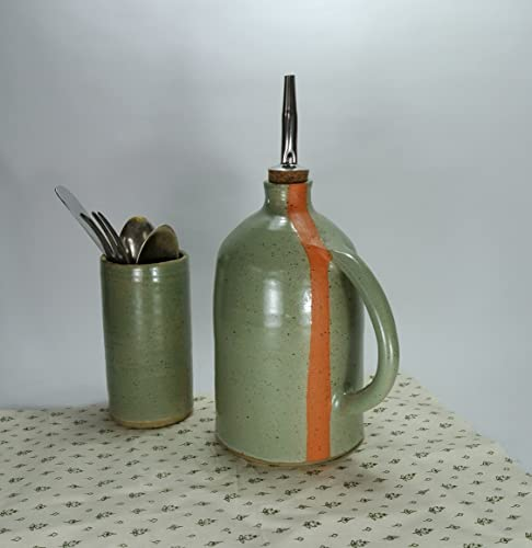 Amazon Com Handmade Olive Oil And Vinegar Cruet Olive Oil