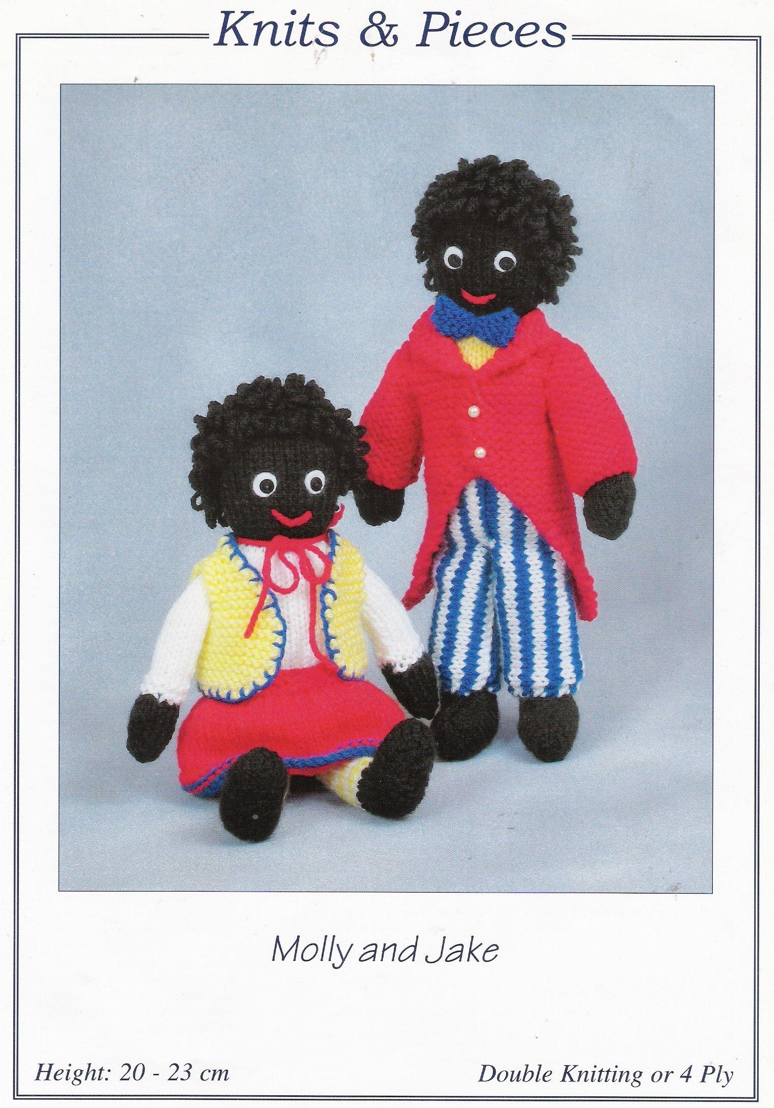 Molly and Jake Golly Knitting Pattern: Amazon.co.uk: Sandra Polley ...