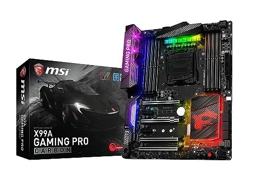 3 opinioni per Msi X99A Gaming Pro Carbon- Scheda Madre QuadDDR4-2133, SATA3, SATAe, USB 3.1,