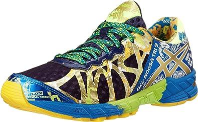 ASICS Gel-Noosa Tri 9 GR Tenis para Correr para Hombre, Azul (Navy/Gold/Gold Ribbon), 40.5 EU: Amazon.es: Zapatos y complementos