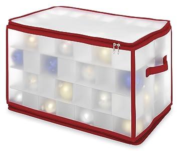 Whitmor 6129-5353 Caja de Juguete y de Almacenamiento - Cajas de Juguetes y de Almacenamiento (Rojo, Transparente): Amazon.es: Hogar