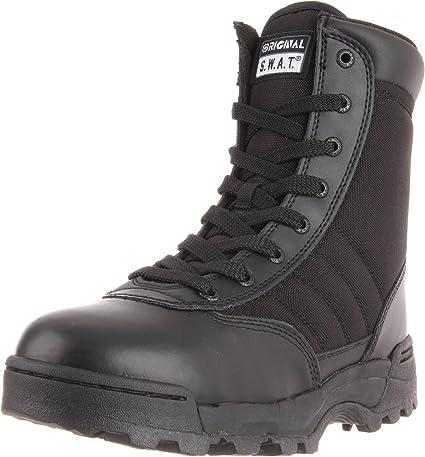 TALLA 45.5 EU. Original SWAT Einsatzstiefel 1152 Side Zip - Calzado de Zapatillas de Senderismo para Mujer