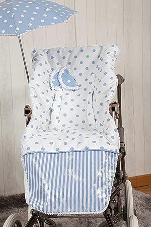 Babyline Carrusel - Colchoneta para silla de paseo, color azul ...