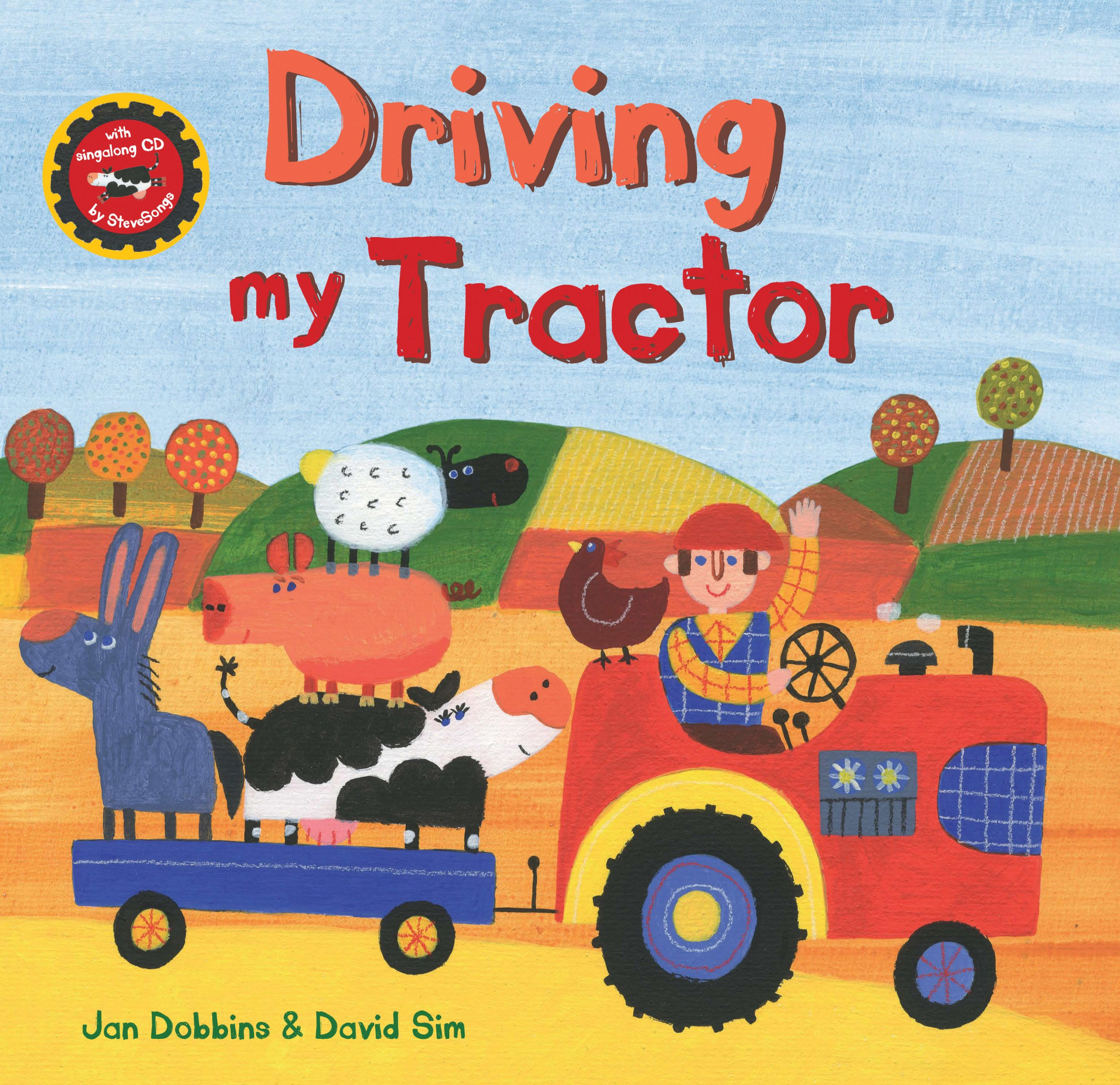 Driving My Tractor HC w CD (A Barefoot Singalong)