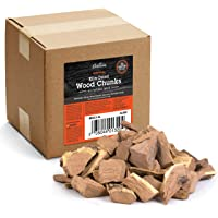 Camerons Products Smoking Wood Chunks- (Alder) Kiln Dried BBQ Large Cut Chips- All Natural Barbecue Smoker Chunks- 5…