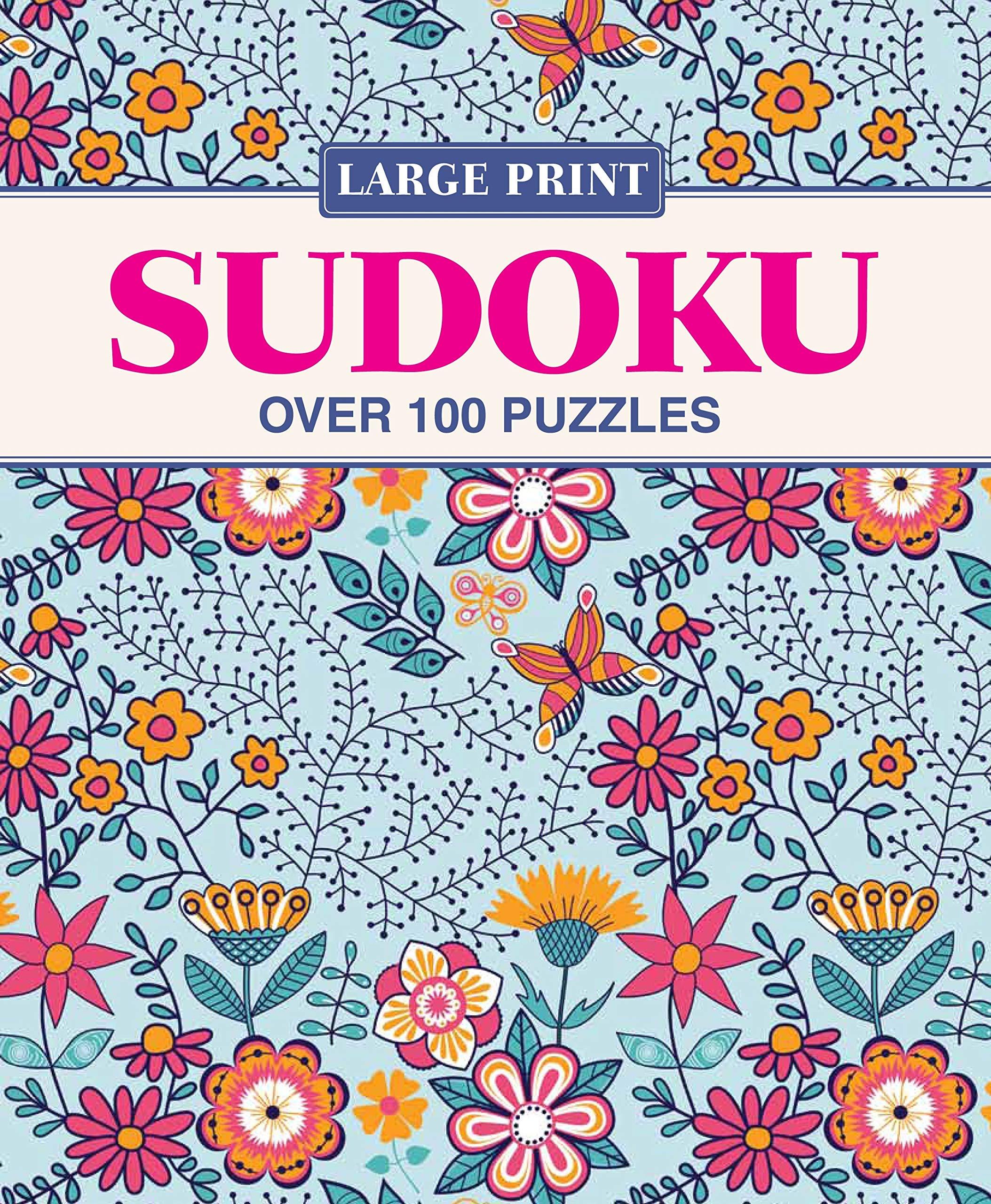 Large Print Sudoku pdf epub